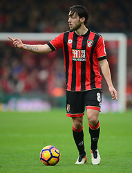 Harry Arter of Bournemouth - Mandatory by-line: Alex James/JMP - 18/12/2016 - FOOTBALL - Vitality Stadium - Bournemouth, England - Bournemouth v Southampton - Premier League