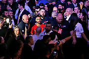 Kell Brook walks to the ring before the Kell Brook vs Mark DeLuca WBO Inter-Continental Super Welterweight fight at the FlyDSA Arena, Sheffield, United Kingdom on 8 February 2020.