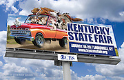 Kentucky State Fair Billboard. Photoshop for The Kentucky State Fair.