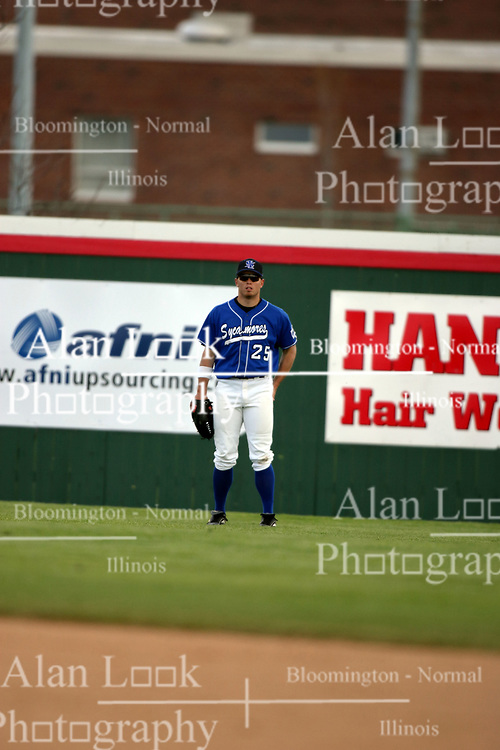 15 February 2007: Josh Abercrombie.  Indiana State Sycamores gave up the first game of the double-header by a score of 16-6 to the Illinois State Redbirds at Redbird Field on the campus of Illinois State University in Normal Illinois.