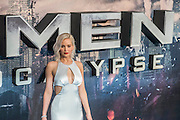 Jennifer Lawrence (Raven/Mystique) - The 'global fan screening' of Twentieth Century Fox's X-Men Apocalypse at the BFI IMAX at Waterloo.