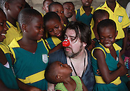 Jonathan Ross and Davina McCall, Accra 4th/5th Feb