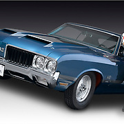 Olds 442 W10 drag racer with owner
