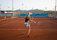 Rafa Nadal Academy in Manacor, Mallorca,Sandplaetze,<br /> <br />  - Rafa Nadal Academy -  -  Rafa Nadal Academy - Manacor - Mallorca - Spanien  - 24 October 2016. <br /> &copy; Juergen Hasenkopf