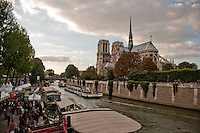 Paris, Notre Dame from the Left Bank