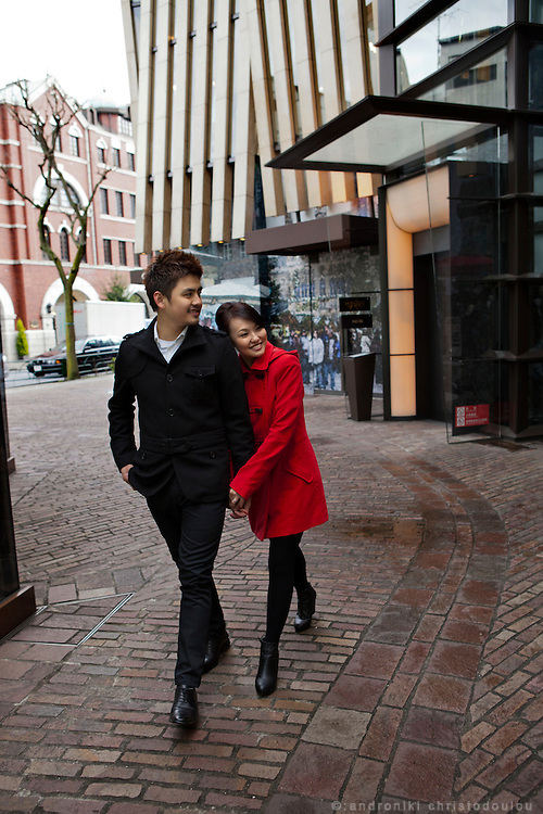 Ben and Winnie in Aoyama