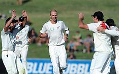Napier-Cricket, New Zealand v Zimbabwe, Test, day 3