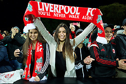 ADELAIDE, AUSTRALIA - Monday, July 20, 2015: A Liverpool supporter during a preseason friendly match against Adelaide United at the Adelaide Oval on day eight of the club's preseason tour. (Pic by David Rawcliffe/Propaganda)