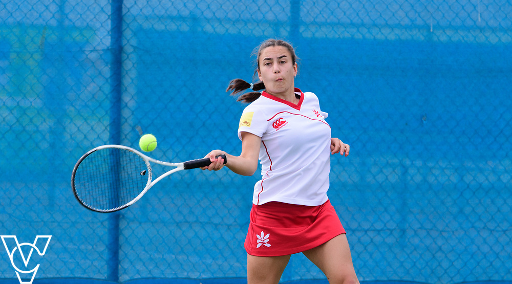 Aberdare Cup - Sevenoaks School - Orissa Welsh<br /> <br /> Team Tennis Schools National Championships Finals 2017 held at Nottingham Tennis Centre.  <br /> <br /> Picture: Chris Vaughan Photography for the LTA<br /> Date: July 14, 2017