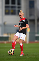 Danique Kerkdijk of Bristol City Women - Mandatory by-line: Paul Knight/JMP - 28/10/2017 - FOOTBALL - Stoke Gifford Stadium - Bristol, England - Bristol City Women v Reading Women - FA Women's Super League