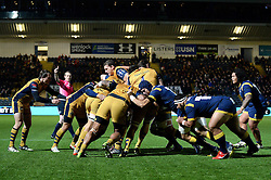 Worcester Warriors push forward - Mandatory by-line: Dougie Allward/JMP - 04/11/2016 - RUGBY - Sixways Stadium - Worcester, England - Worcester Warriors v Bristol Rugby - Anglo Welsh Cup