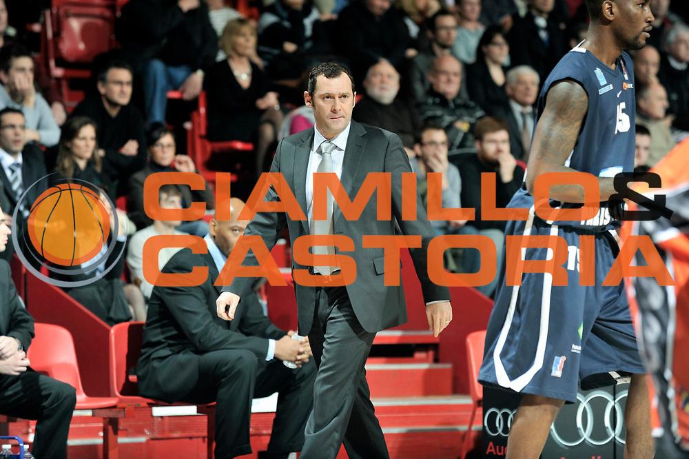 DESCRIZIONE : Championnat de France Pro A Antares Le Mans<br /> GIOCATORE : Christophe DENIS<br /> SQUADRA : Paris<br /> EVENTO : Pro A <br /> GARA : Le Mans Paris<br /> DATA : 27/12/2011<br /> CATEGORIA : Basketball France Homme<br /> SPORT : Basketball<br /> AUTORE : JF Molliere<br /> Galleria : France Basket 2011-2012 Action<br /> Fotonotizia : Championnat de France Basket Pro A<br /> Predefinita :