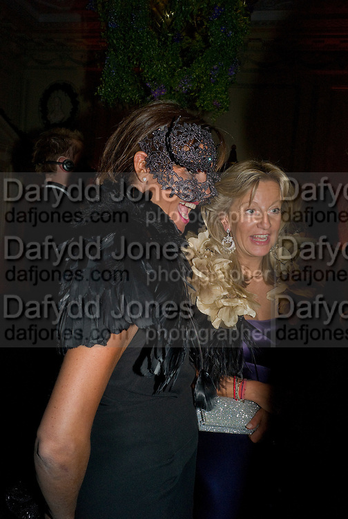DEBBIE VON BISMARCK; The Countess of Hanover, Nicky Haslam party for Janet de Bottona nd to celebrate 25 years of his Design Company.  Parkstead House. Roehampton. London. 16 October 2008.  *** Local Caption *** -DO NOT ARCHIVE-© Copyright Photograph by Dafydd Jones. 248 Clapham Rd. London SW9 0PZ. Tel 0207 820 0771. www.dafjones.com.