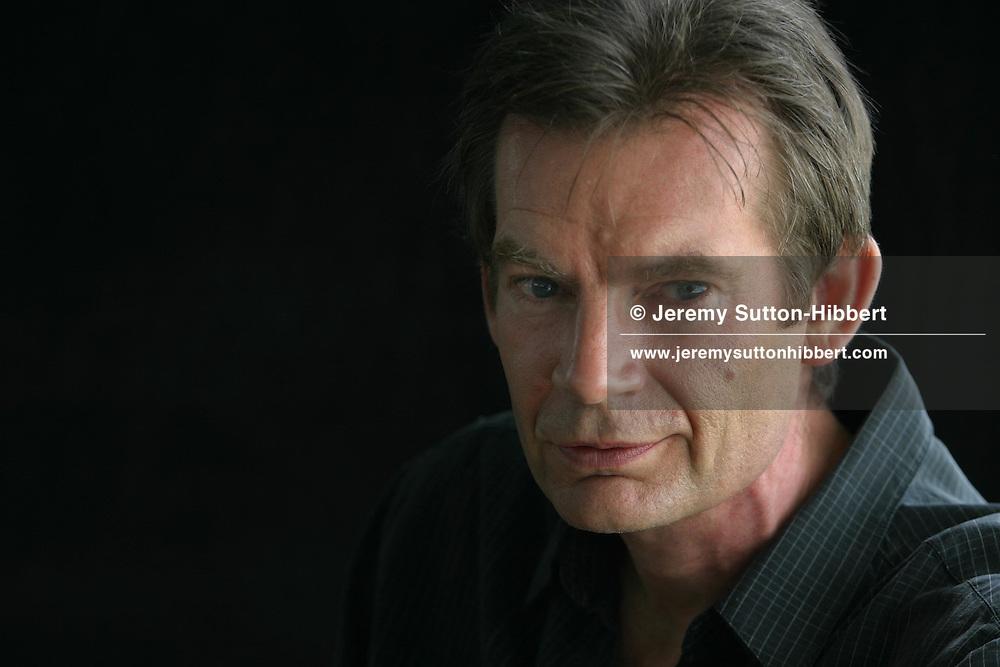 GRAHAM SWIFT, Booker winning novelist...Edinburgh International Book Festival 2003..Edinburgh, Scotland.