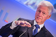 Bill Clinton, 42nd President of the United States.  Guest speaker at the 2014 Stars Foundation Philanthropreneurship Forum, Regents Park, London.