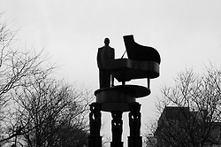 Duke Ellington Statue, Harlem
