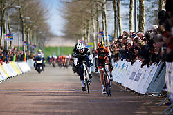 Anna Plichta (POL) fourth at Healthy Ageing Tour 2019 - Stage 4B, a 74.6km road race from Wolvega to Heerenveen, Netherlands on April 13, 2019. Photo by Sean Robinson/velofocus.com