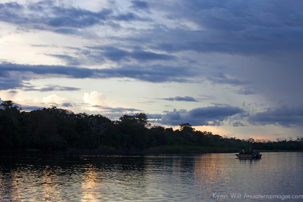 South America, Peru, Amazon. Peruvian Amazon.