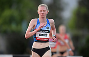 May 16, 2019; Los Angeles, CA, CA, USA; Courtney Barnes wins the women's steeplechase in 9:59.82 during the USATF Distance Classic at Occidental College.