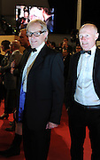 Director Ken Loach (left) on the red carpet of  'The Angels' Share' during the 65th Annual Cannes Film Festival at Palais des Festivals on May 22, 2012 in Cannes, France..Photo Ki Price.Director Ken Loach  on the red carpet of  'The Angels' Share' during the 65th Annual Cannes Film Festival at Palais des Festivals on May 22, 2012 in Cannes, France..Photo Ki Price.