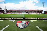 during the Barclays Premier League match between Bournemouth and Chelsea at the Goldsands Stadium, Bournemouth, England on 23 April 2016. Photo by Adam Rivers.