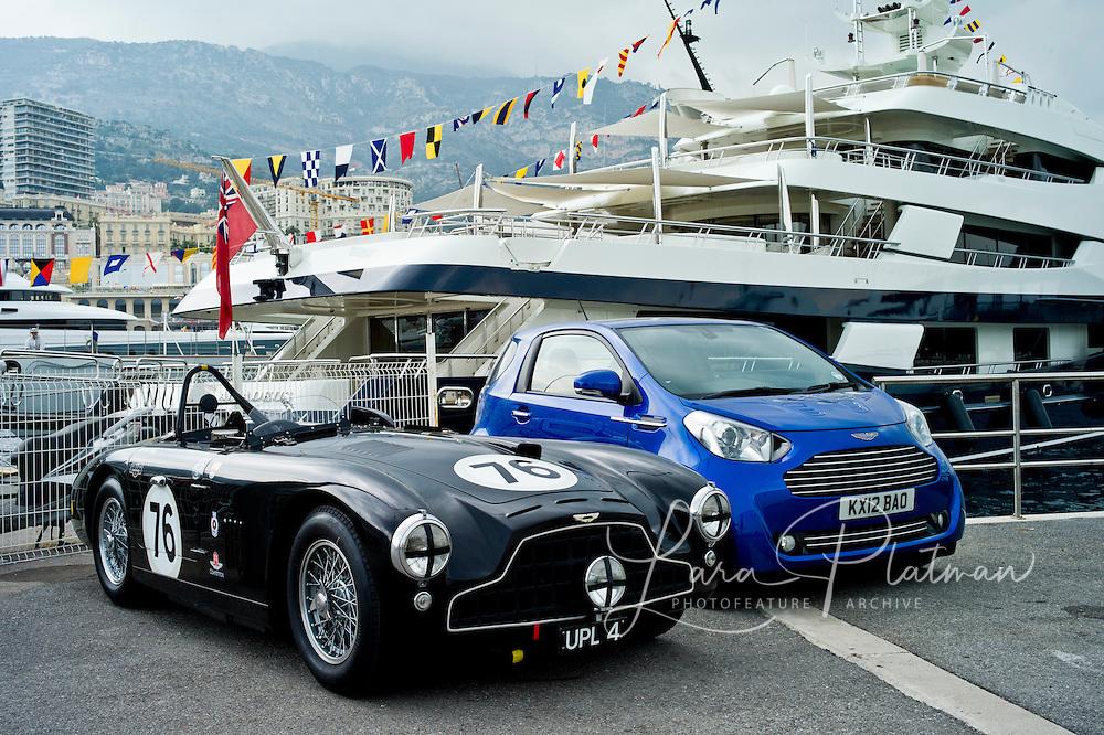 Aston Martin at the Grand Prix de Monaco Historic 2012
