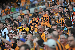 HULL CITY FANS, Hull City v Sheffield Wednesday Sky Bet Championship Play-Off Final, Wembley Stadium Saturday  28th May 2016.Photo:Mike Capps