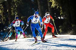 Apostolos Angelis (GRE) during the Men 20 km Individual Competition at day 1 of IBU Biathlon World Cup 2019/20 Pokljuka, on January 23, 2020 in Rudno polje, Pokljuka, Pokljuka, Slovenia. Photo by Peter Podobnik / Sportida