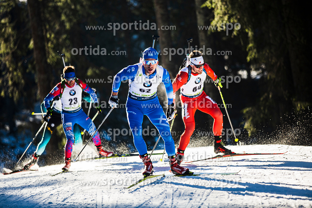 Apostolos Angelis (GRE) during the Men 20 km Individual Competition at day 1 of IBU Biathlon World Cup 2019/20 Pokljuka, on January 23, 2020 in Rudno polje, Pokljuka, Pokljuka, Slovenia. Photo by Peter Podobnik / Sportida