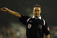 Photo: Daniel Hambury.<br />Fulham v Charlton Athletic. The Barclays Premiership. 16/10/2006.<br />Referee Rob Styles.