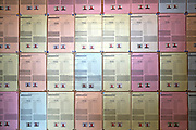 A wall of Market research responses has been put up on Everwarm's Wall of Excellence. These are the workmen from Cumbria Energy Efficiency Advice centre (Cumbrian EEAC).