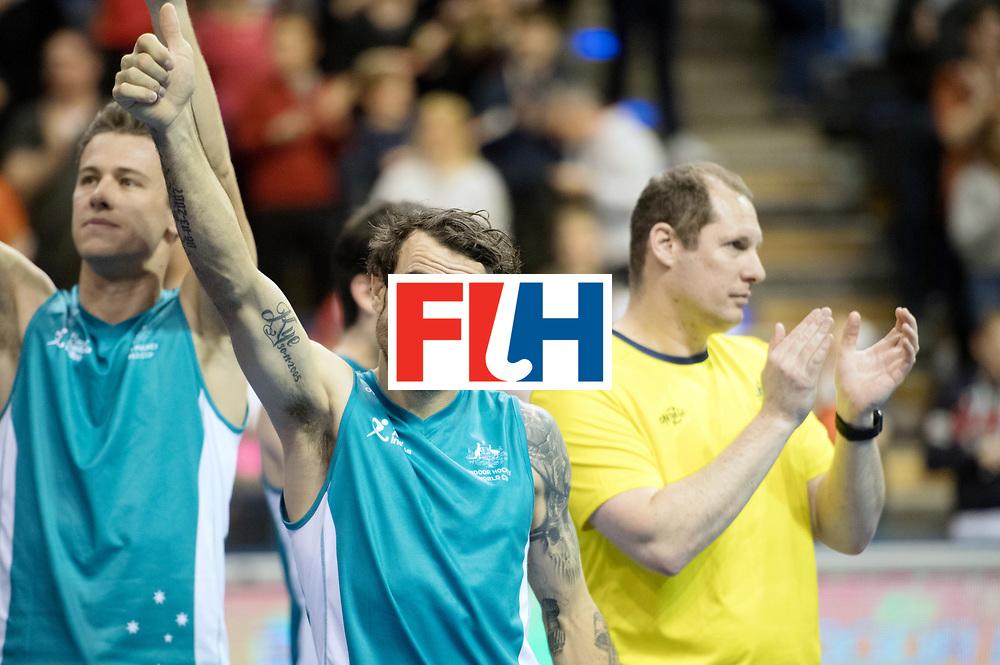 BERLIN - Indoor Hockey World Cup<br /> Bronze: Iran - Australia<br /> foto: Australia lost the 3 the place<br /> WORLDSPORTPICS COPYRIGHT FRANK UIJLENBROEK