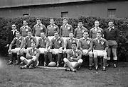 Irish Rugby Football Union, Ireland v France, Five Nations, Landsdowne Road, Dublin, Ireland, Saturday 15th April, 1967,.15.4.1967, 4.15.1967,..Referee- R P Burrell, Scottish Rugby Union, ..Score- Ireland 6- 11 France, ..Irish Team, ..T J Kiernan,  Wearing number 15 Irish jersey, Full Back, Cork Constitution Rugby Football Club, Cork, Ireland,..R D Scott, Wearing number 14 Irish jersey, Right Wing, Queens University Rugby Football Club, Belfast, Northern Ireland, ..F P K Bresnihan, Wearing number 13 Irish jersey, Right Centre, University College Dublin Rugby Football Club, Dublin, Ireland, ..J C Walsh,  Wearing number 12 Irish jersey, Left Centre, Sundays Well Rugby Football Club, Cork, Ireland, ..N H Brophy, Wearing number 11 Irish jersey, Left wing, Blackrock College Rugby Football Club, Dublin, Ireland, ..C M H Gibson, Wearing number 10 Irish jersey, Stand Off, N.I.F.C, Rugby Football Club, Belfast, Northern Ireland, ..R M Young, Wearing number 9 Irish jersey, Scrum Half, Queens University Rugby Football Club, Belfast, Northern Ireland,..K G Goodall, Wearing number 8 Irish jersey, Forward, Newcastle University Rugby Football Club, Newcastle, England, ..M G Doyle, Wearing number 7 Irish jersey, Forward, Edinburgh Wanderers Rugby Football Club, Edinburgh, Scotland, ..N A Murphy, Wearing number 6 Irish jersey, Captain of the Irish team, Forward, Cork Constitution Rugby Football Club, Cork, Ireland,..M G Molloy, Wearing number 5 Irish jersey, Forward, University College Galway Rugby Football Club, Galway, Ireland,  ..W J McBride, Wearing number 4 Irish jersey, Forward, Ballymena Rugby Football Club, Antrim, Northern Ireland,..S A Hutton, Wearing number 3 Irish jersey, Forward, Malone Rugby Football Club, Belfast, Northern Ireland, ..K W Kennedy, Wearing number 2 Irish jersey, Forward, C I Y M S Rugby Football Club, Belfast, Northern Ireland, ..S MacHale, Wearing number 1 Irish jersey, Forward, Landsdowne Rugby Football Club, Dublin, Ireland, ..