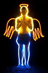 Angel in Pop Art