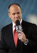 NFL Network football analyst Rich Eisen talks about the upcoming Jacksonville Jaguars NFL week 14 football game against the Houston Texans on Thursday, Dec. 5, 2013 in Jacksonville, Fla. The Jaguars won the game 27-20. ©Paul Anthony Spinelli