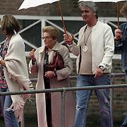 NLD/Amsterdam/20080907 - Gasten van het huwelijksfeest Nina Brink en Pieter Storms, Pieter en zijn moeder