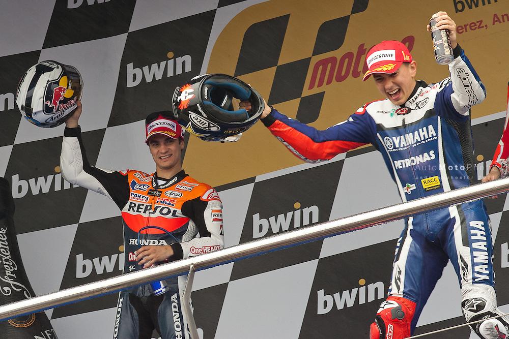 2011 MotoGP World Championship, Round 2, Jerez, Spain, 3 April 2011, Jorge Lorenzo