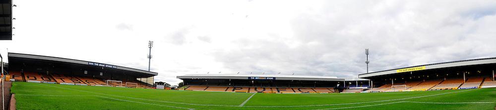 Vale Park - Photo mandatory by-line: Dougie Allward/JMP - Tel: Mobile: 07966 386802 05/10/2013 - SPORT - FOOTBALL - Vale Park - Stoke-on-Trent - Port Vale V Bristol City - Sky Bet League 1