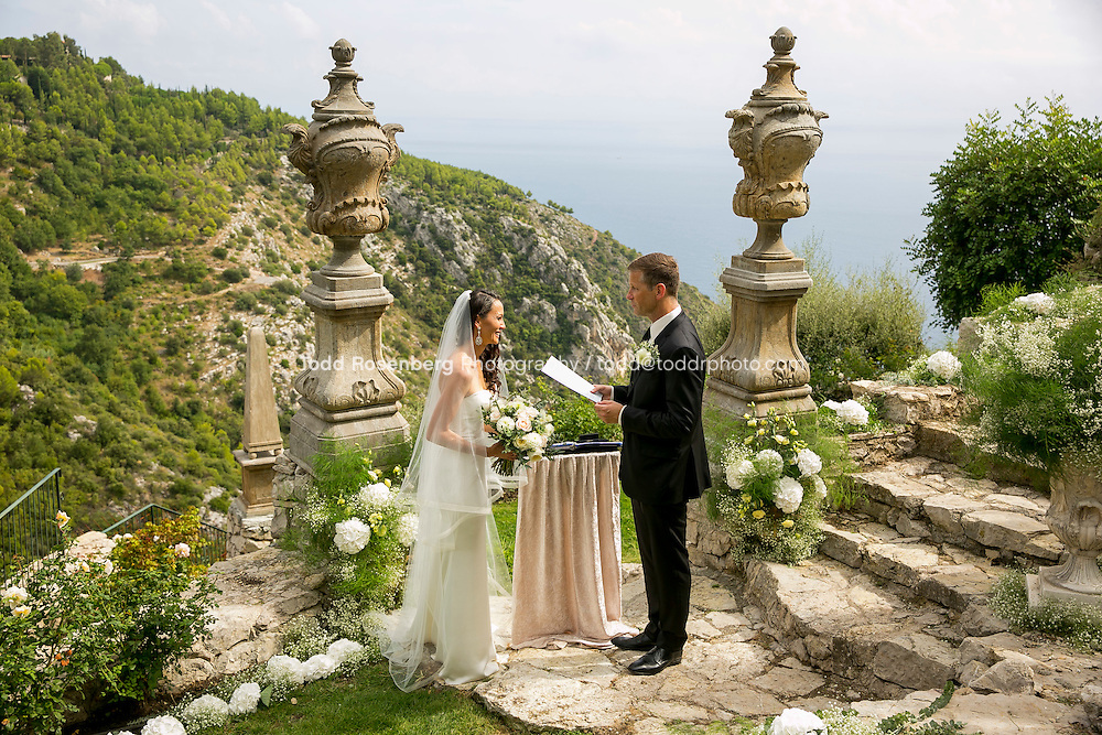 9/16/15 7:53:16 AM -- Eze, Cote Azure, France<br /> <br /> The Wedding of Ruby Carr and Ken Fitzgerald in Eze France at the Chateau de la Chevre d'Or. <br /> . &copy; Todd Rosenberg Photography 2015