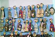 Uzbekistan, Bukhara. Kukeldash Medressa. Puppet theatre.