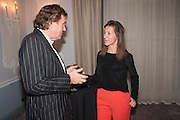 THEO FENNELL; MICHELLE LAVERY, The launch of 'Solo', the new James Bond novel written by William Boyd,  The Dorchester , PARK LANE, LONDON. 25 SEPTEMBER 2013.