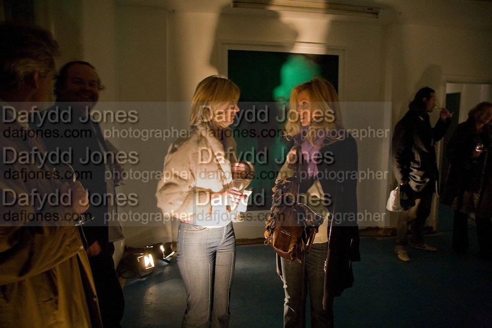 Sigrid Wilkinson; Pia Getty; , Private view: Atlantis by Gayle Chong Kwan, Hosted by Pia Getty, Isabella Macpherson & Sigrid Wilkinson . 29 Thurloe Place, SW7. London. 11 Nov emebr 2008<br /> *** Local Caption *** -DO NOT ARCHIVE-© Copyright Photograph by Dafydd Jones. 248 Clapham Rd. London SW9 0PZ. Tel 0207 820 0771. www.dafjones.com.