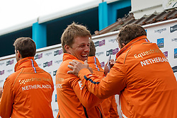 Team Netherlands, Van ASten Leopold, Pals Johnny, Van der Schans Wout Jan <br /> Furusiyya FEI Nations Cup presented by Longines <br /> La Baule 2016<br /> © Hippo Foto - Dirk Caremans<br /> 13/05/16