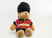 British Buckingham Palace beefeater soldier guard Teddy bear stuffed doll