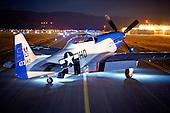 Delivery of TF-51D 'E Pluribus Unum' 2008