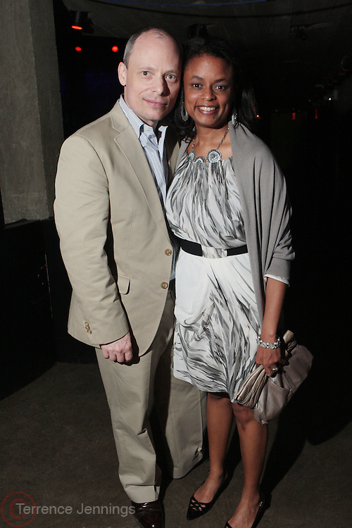 28 April 2011- New York,  NY- l to r: Andrew Salomon and Sheryl Salomon at The Sparkling Celebration for the Birthday of Harriette Cole held at the Galapagos Art Space on April 27, 2011 in Brooklyn, NY Photo Credit: Terrence Jennings