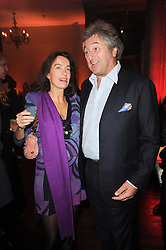 VITTORIO MISSONI and LAUDOMIA PUCCI at a Celebration of 10 Years of IHT Luxury Conferences during the International Herald Tribune Heritage Luxury Conference held at One Mayfair, 13 1/2 North Audley Streer, London on 9th November 2010.