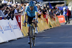 March 16, 2019 - Col De Turini, France - LOPEZ MORENO Miguel Angel (COL) of ASTANA PRO TEAM pictured during stage 7 of the 2019 Paris - Nice cycling race with start in Nice and finish in Col de Turini  on March 16, 2019 in Col De Turini, France, (Credit Image: © Panoramic via ZUMA Press)