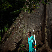 Legend has it that The Cotton Tree in Robertsport, Liberia, is where the American Colonization Society tied up its ship in the late 19th century - the spot the Country was founded upon. Joseph Jenkins Roberts, the first president of Liberia (for whom Robertsport was named), is said to have carved his initials in the tree when he realized this would be the land where he would spend the rest of his life.<br />