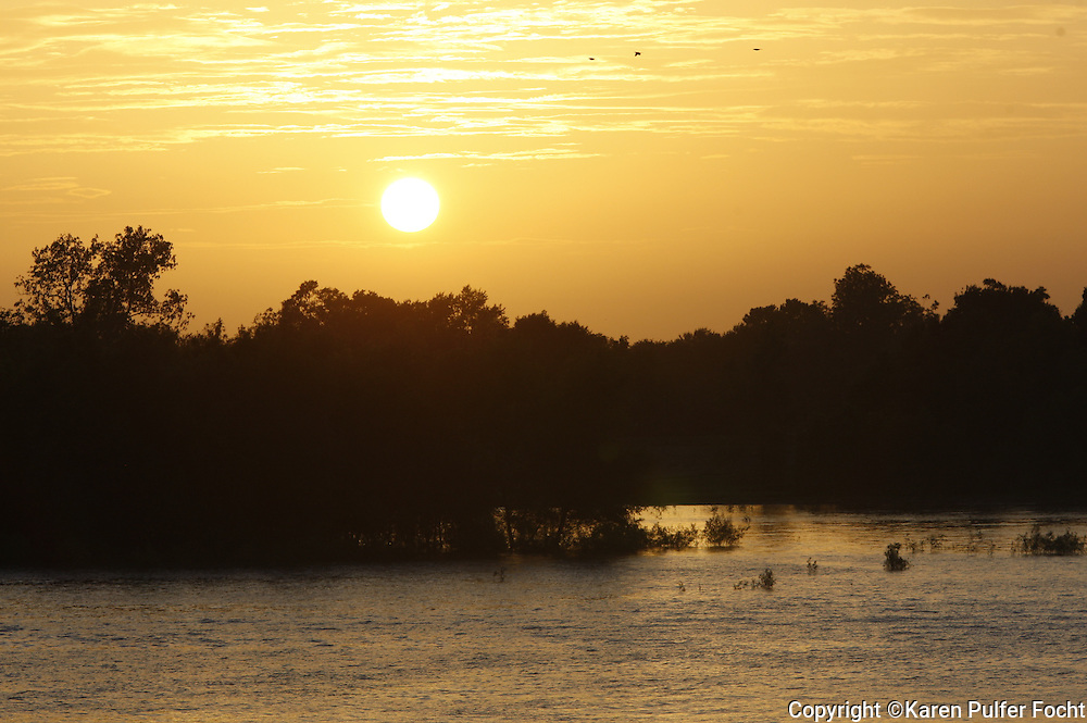 Taking in beautiful evening sunsets is one of the most popular activities on the boat . Travelers get to see sections of the Mississippi River they could never see otherwise.